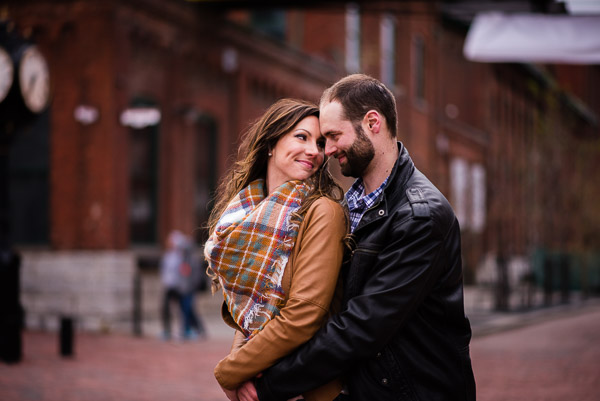 Ashley + Andrew |Distillery District Engagement